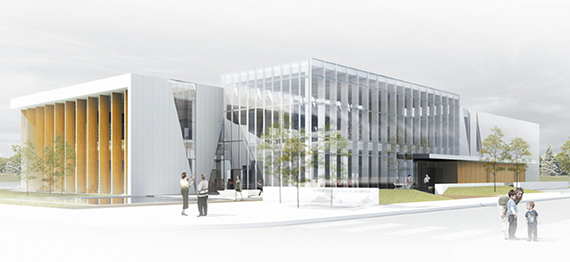 The Paul-Mercier Municipal Library Inauguration